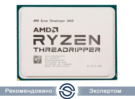 Процессор AMD Ryzen Threadripper 3960X 3,8Гц sTRX4 24/48 Core 100-000000010