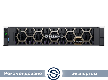Система хранения данных Dell ME4024 / 2x1.2Tb HDD / 10Gb SFP+ 8 Port Dual Controller / iSCSI / Rack / 210-AQIF-10GS