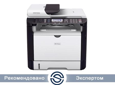 МФУ Ricoh SP 311SFNW  1200x600 / A4 / 28 ppm / Копир / Принтер / Сканер / Факс / WiFi