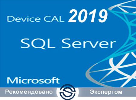 Microsoft SQL CAL 2019 Single Open No Level Device CAL (359-00810) для коммерческих организаций