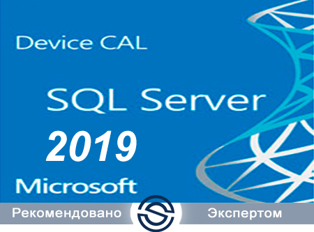 Microsoft SQL CAL 2019 Russian Open Level A Government Device CAL (359-04671) для государственных учреждений