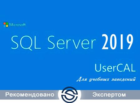 Microsoft SQL CAL 2019 Single Open No Level Academic User CAL (359-06848) для учебных заведений