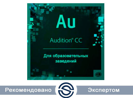 Adobe Audition CC for Teams Named EDU Multiple Platforms Multi European Languages New Subscription 12 months (65272595BB01A12)