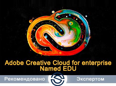 Adobe Creative Cloud for Enterprise All Apps Named EDU 65276751BB01A12. Лицензия для учебных заведений на пользователя