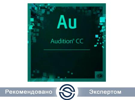 Adobe Audition CC for Teams Multiple Platforms Multi European Languages New Subscription 12 months (65297746BA01A12)