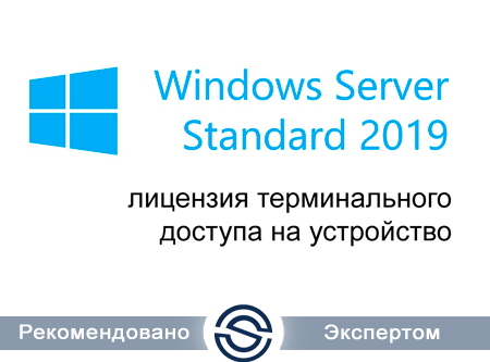 Microsoft Windows Remote Desktop Services CAL 2019 Single Open No Level Device CAL (6VC-03747) для коммерческих организаций