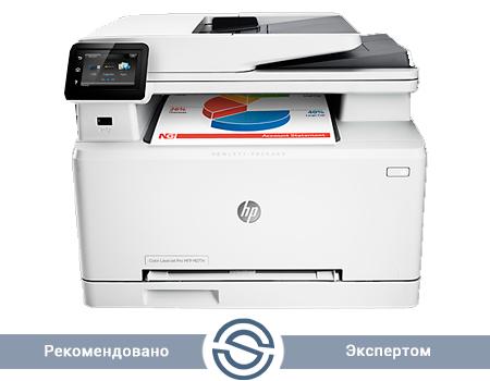 МФУ HP Color LaserJet Pro M277n / 600x600 / A4 / 18 ppm / Printer+Scaner+Copier+Fax / ADF / B3Q10A