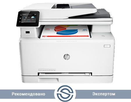 МФУ HP Color LaserJet Pro M277dw / 600x600 / A4 / 18 ppm / Printer+Scaner+Copier+Fax / ADF / B3Q11A