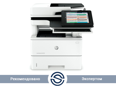 МФУ HP Color LaserJet Enterprise M577dn / 1200x1200 / A4 / 38 ppm / Printer+Scaner(ADF-100 стр)+Copier / B5L46A