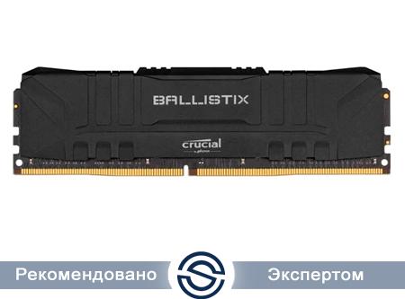 Оперативная память 16GB DDR4 3000MHz Crucial Ballistix Gaming Black PC4-24000 1.35V CL15 15-16-16-35 BL16G30C15U4B
