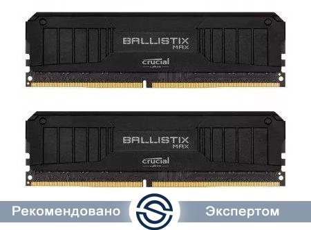 Оперативная память 16Gb Kit (2x8Gb) DDR4 4000MHz Crucial Ballistix MAX PC4-32000 18-19-19-39 1,35V BLM2K8G40C18U4B