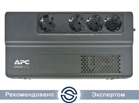 UPS APC 1000VA / 600W / Easy UPS / Интерактивная / Tower / Schuko / BV1000I-GR