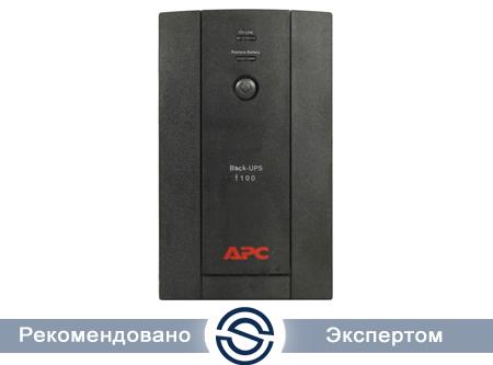 UPS APC 1100VA / 550W / Back / BX1100LI