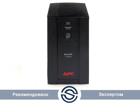 UPS APC 1400VA / 700W / Back / BX1400UI