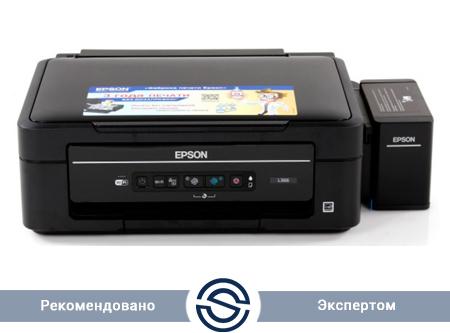 МФУ Epson L366 / Струйное / A4 / 5760 х 1440 dpi / 33ppm / USB / C11CE54403