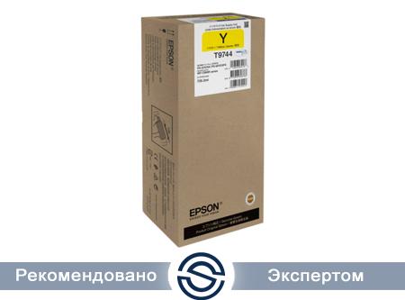 Картридж Epson C13T974400 WorkForce Pro WF-C869R желтый (на 84000 отпечатков)