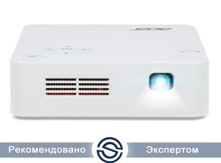 Проектор Acer C202i / 854x480 /300 люм / DLP / HDMI+USB