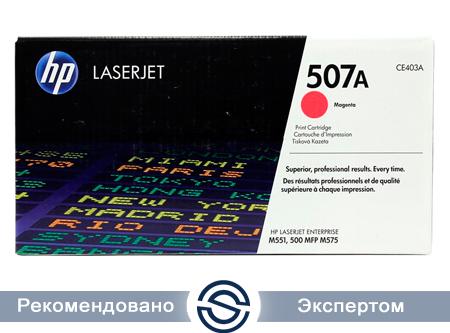 Картридж HP CE403A Лазерный Пурпурный (на 6000 отпечатков)