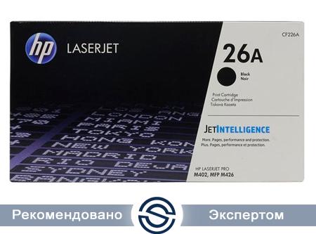 Картридж HP CF226A Лазерный Черный (на 3100 отпечатков)