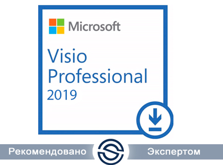 Microsoft Visio Professional 2019 Single OLP Бессрочно (D87-07499) для коммерческих организаций
