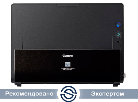 Сканер Canon imageFORMULA DR-C225W / A4 / 25 ppm / USB, WiFi / 3259C003