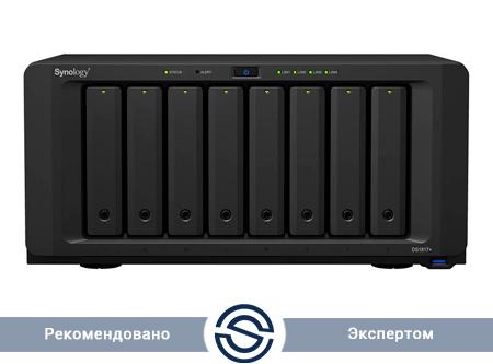 Система хранения данных Synology DiskStation DS1817 / 8xHDD / 2/8 GB DDR3 / ARM Cortex-A15 (Alpine AL-314) Quad-Core