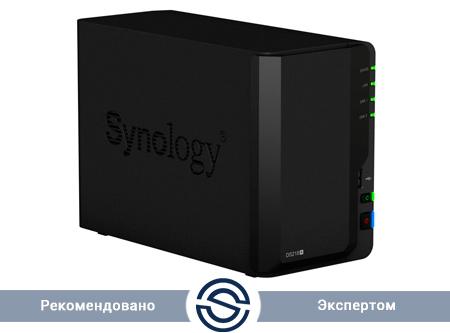 СХД Synology DS218+