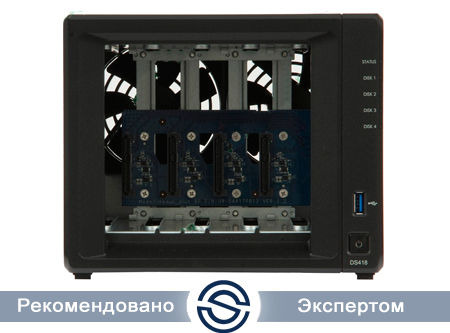 СХД Synology DS418