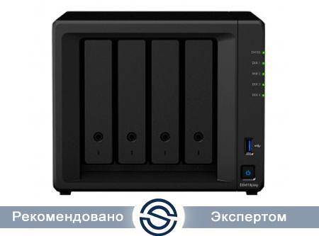 Система хранения данных Synology DS418play / 4xHDD / 2Gb DDR3L / 2000 МГц