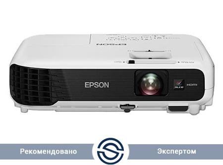 Проектор Epson EB-X04 / 1024x768 / 16:10 / 15000:1 / 2700 lm /  VGA+HDMI+USB+S-Video+RCA