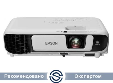 Проектор Epson EB-X41 / LCD:3 / 1024x768 / VGA, RCA, HDMI, USB, SECAM,HDTV / V11H843040
