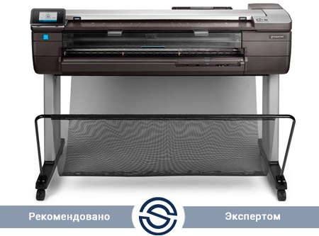 Принтер HP DesignJet T830 /A0  2400x1200 dpi/1Gb  Gigabit Ethernet (1000Base-T), Wi-Fi / F9A30A