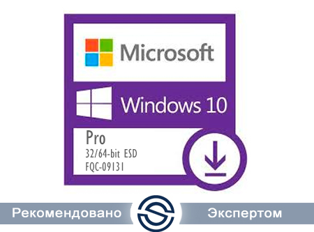 Microsoft Windows 10 Pro 32-bit/64-bit All Lng ESD Online Product Key License 1 License Downloadable NR (FQC-09131)