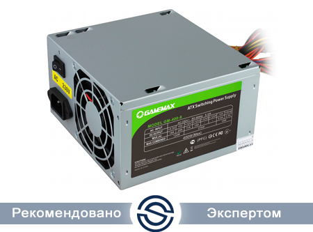 Блок питания Gamemax GM-400 (12см), 400W