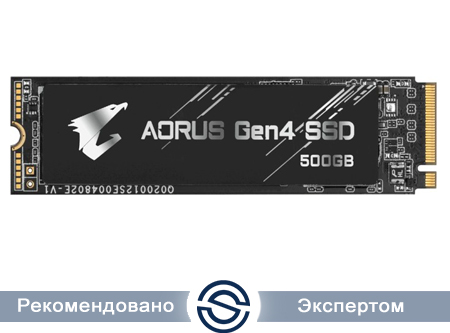SSD 500Gb Gigabyte AORUS M.2 PCIe R5000Mb/s W2500MB/s GP-AG4500G