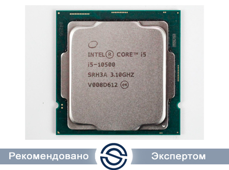 Процессор Intel Core i5-10500 3,1GHz (4,5GHz) 12Mb 6/12 Core Comet 65W FCLGA1200