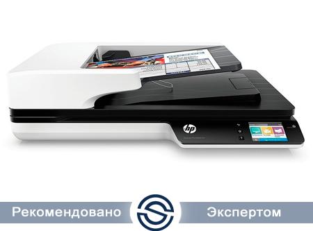 Документ-сканер HP ScanJet Pro 4500 fn1 / A4 / 30ppm / USB + Ethernet + WiFi / L2749A