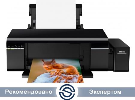 Принтер Epson Stylus L805 / A4 / 5760x1440 / 38 ppm / USB / Wi-Fi / C11CE86403