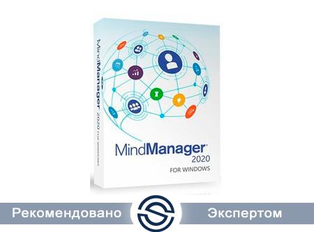 MindManager 2020 for Windows - Single, Подписка на 1 год, Электронная поставка (LCMM2020SUB1ML1)