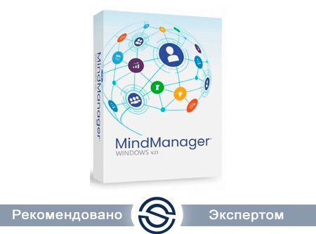 MindManager Windows 21 - Single, Бессрочная лицензия, Электронная поставка (LCMM21SUML)