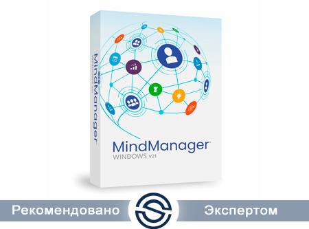 Corel MindManager Academic Subscription Single, Подписка на 1 год, Электронная поставка