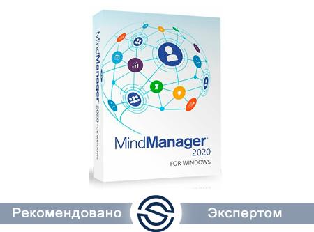 MindManager Windows 21 - Single, Подписка на 1 год, Электронная поставка (LCMMSUB1MLPC1)