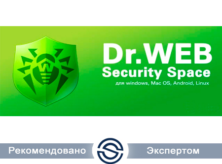 Антивирус DrWeb LHW-BK-24M-1-A3