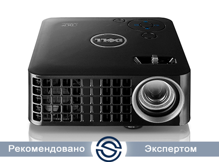Проектор Dell M115HD 1280х800 / 450 ANSI люм / Remote Controller / Carrying case