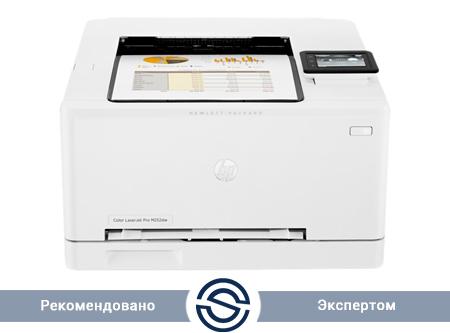 Принтер HP Color LaserJet Pro M252dw / A4 / 18 ppm / Duplex+USB+LAN / B4A22A
