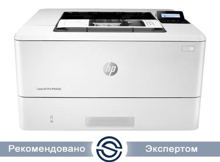 Принтер HP LaserJet Pro M404dn / A4 / 38 ppm / 1200x1200 dpi / W1A53A