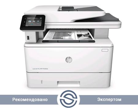МФУ HP LaserJet Pro M426fdw / 1200x1200 / A4 / 38 ppm / Printer+Scaner+Copier+Fax / WiFi+Duplex+USB+LAN / F6W15A