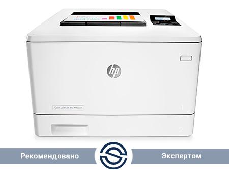 Принтер HP Color LaserJet Pro M452dn / 600x600 / A4 / Duplex / 27 ppm / LAN+USB / CF389A