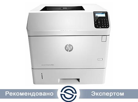 Принтер HP LaserJet Enterprise M605n /1200x1200 /A4 /55 ppm / LAN+USB / E6B69A