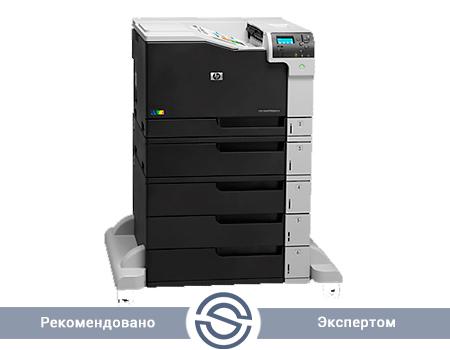 Принтер HP Color LaserJet Enterprise M750xh / 600x600 / A3 / 30 ppm / USB+LAN / D3L10A